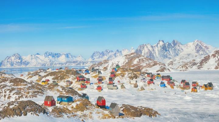 Groenland in de lente