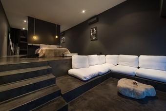 Een kamer in het Latitude 13 Hotel