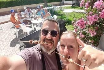 Suzanne woont en werkt op Kreta