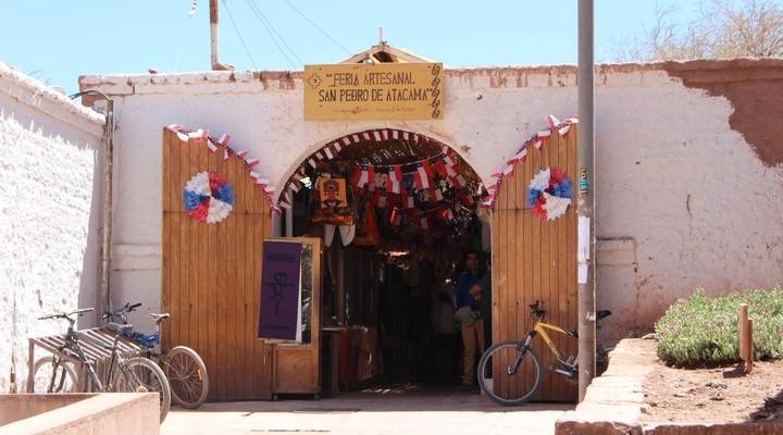 Souvenirmarktje in San Pedro de Atacama