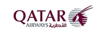 Logo van Qatar Airways