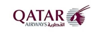 Logo van Qatar Airways