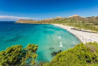 Het Franse eiland Corsica