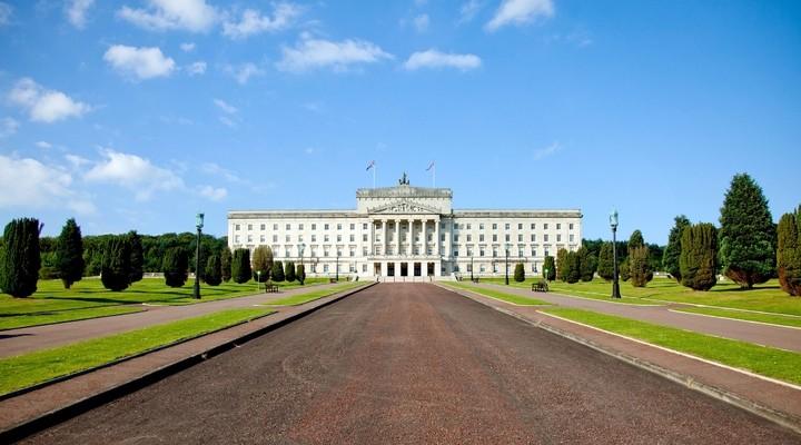 Parlementsgebouw Stormont Belfast Ierland