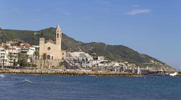 Kustlijn Sitges - Spanje