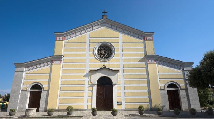 St Stephan kathedraal Shkoder Albanie