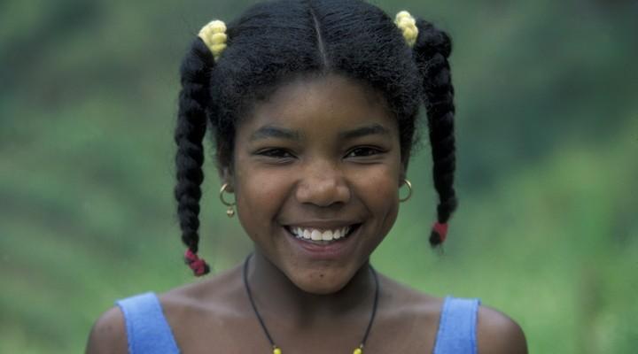 Meisje uit Kaapverdië