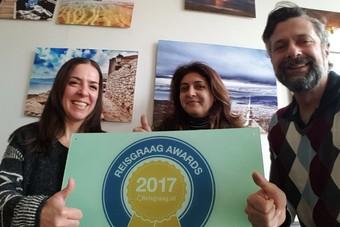 Griekenland wint Reisgraag Award 2017