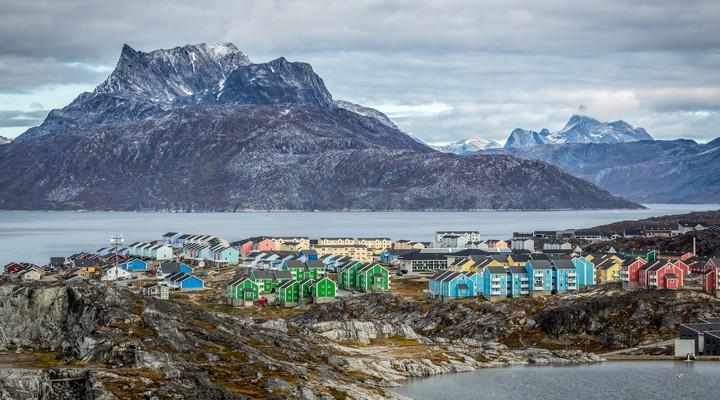 Nuuk in Groenland
