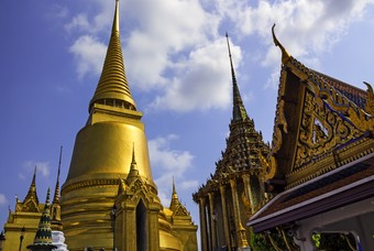 Tempel van Buddha in Thailand