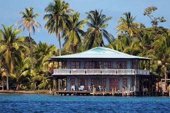 Huis aan het water in Nicaragua
