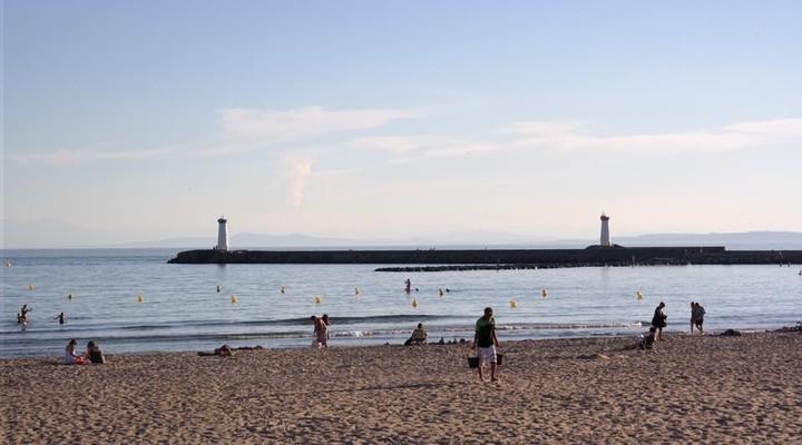 Het strand bij Agde