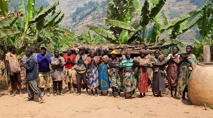 Inwoners van de stad Kabale