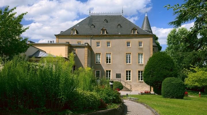 Oud klooster in Schengen, Luxemburg