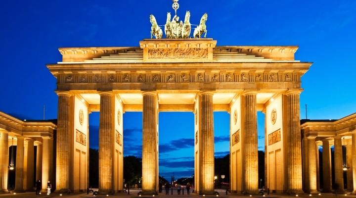Brandenburger Tor Berlijn Duitsland