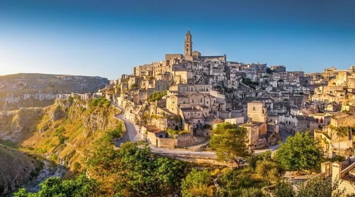 Het prachtige Matera in Basilicata