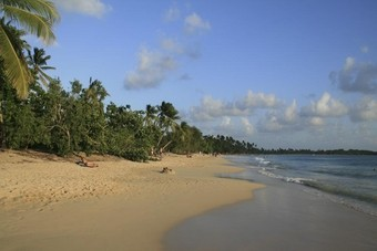 Strand Martinique