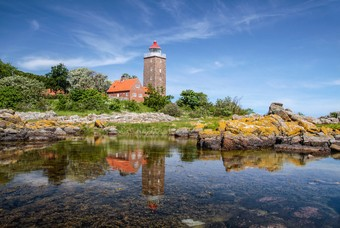 Vuurtoren in Bornholm