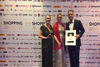 TUI wint Shopping Excellence Award 2017