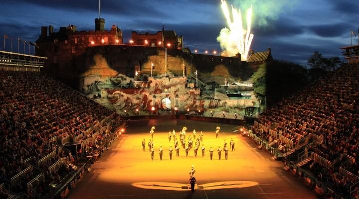 Militaire Taptoe Edinburgh