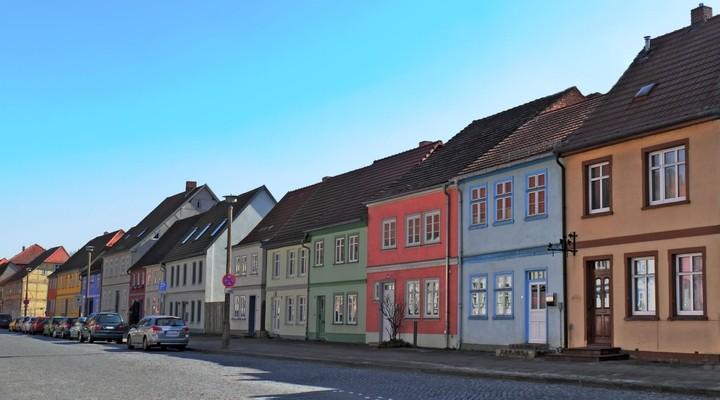 Historische huizen, Neubrandenburg