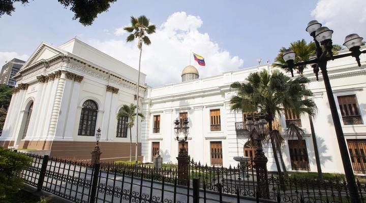 Koloniaal gebouw in Caracas
