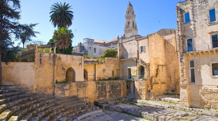 Het oude centrum van Lecce