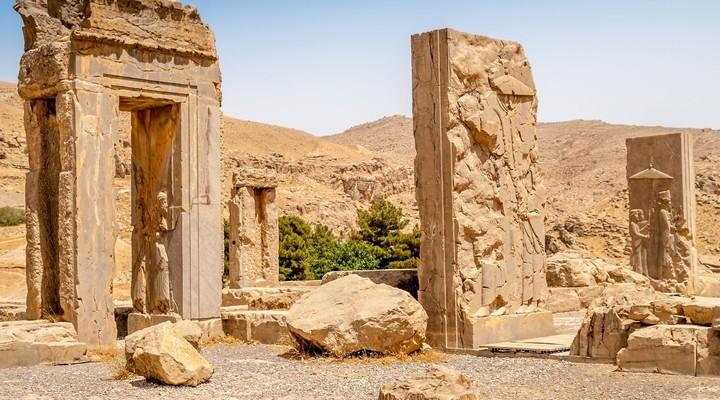 Ruines Persepolis monument bezienswaardigheid