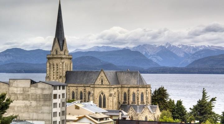 Kathedraal in Bariloche, Argentinië
