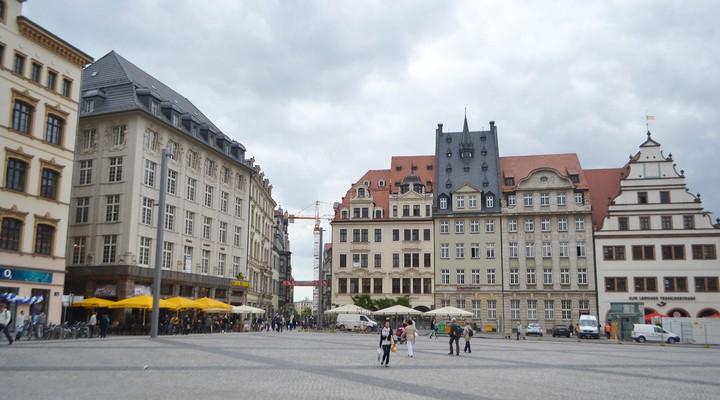 Centrum Leipzig Duitsland