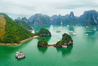Ha Long Baai in Vietnam