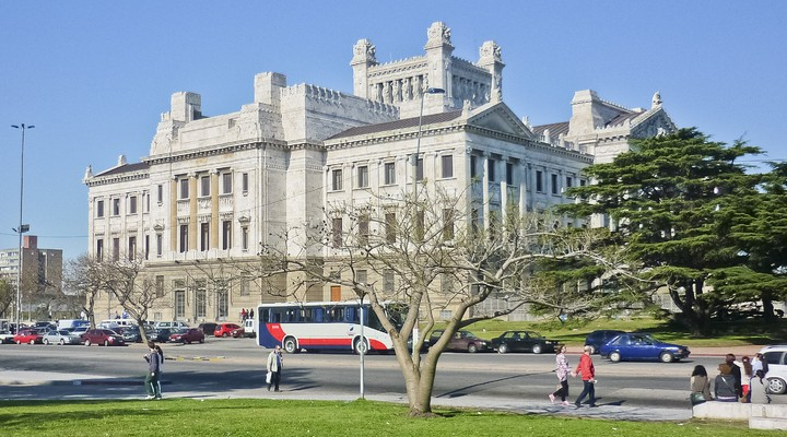 Palacio Legislativo in Montevideo