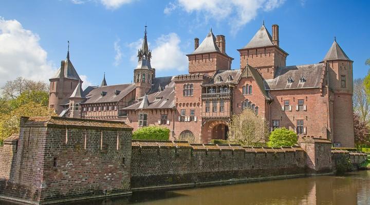 Oude Kasteel de Haar bij Utrecht