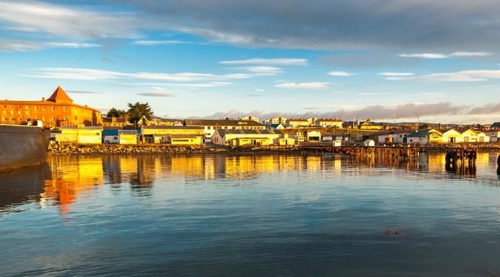 Stadsbeeld Punta Arenas, Chili