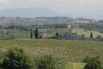 Rondrijden door Toscane
