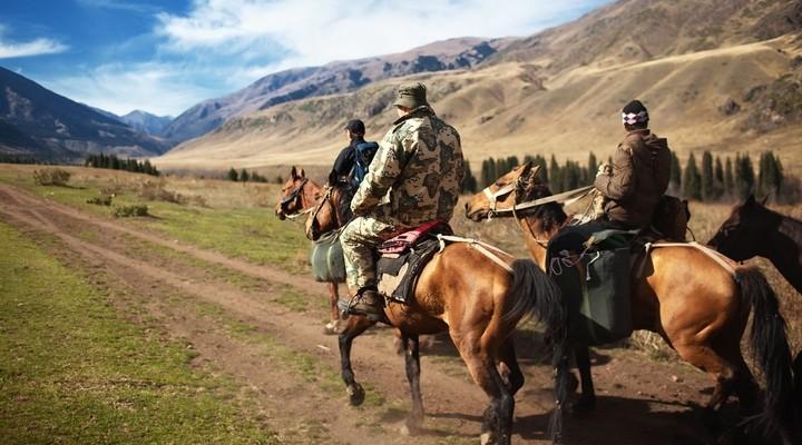 Paardrijden in Kazachstan