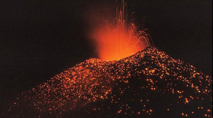 Vulkanen in Nicaragua