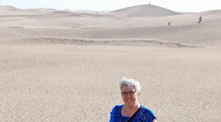 De duinen van Playa del Inglés