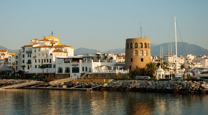 Haven Puerto Banos in Marbella - Spanje