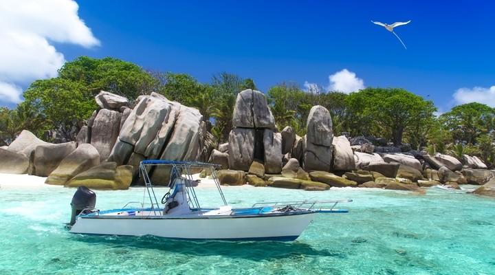 de prachtige Seychellen