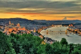 Boedapest uitzicht
