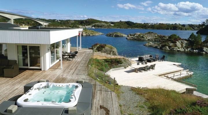 Uitzicht vakantiehuis