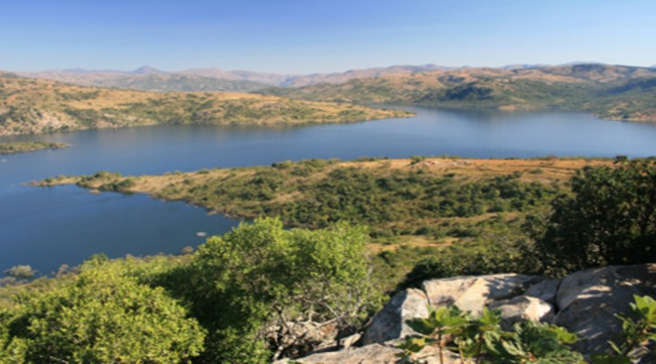 Maguga Dam in Hhohho