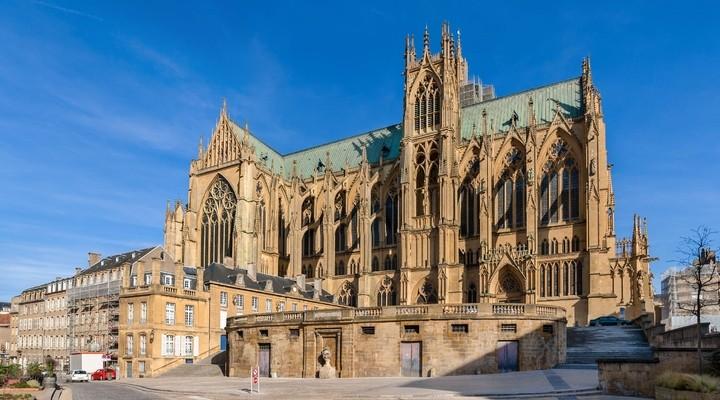 Kathedraal in de Franse stad Metz