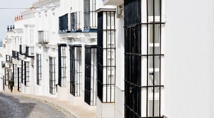 Straatje in Medina Sidonia