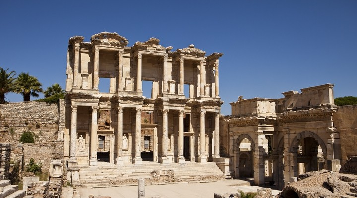 De ruïnes van Efeze