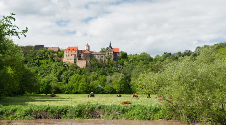 Kasteel Jena Thuringen Duitsland