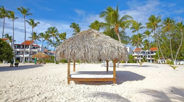 Caribisch strand Dominicaanse Republiek