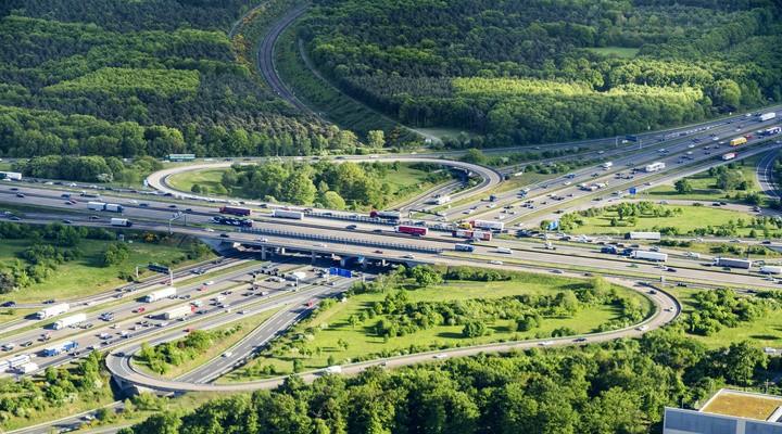 De Autobahn in Duitsland