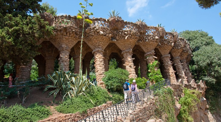 Parque Guell in Barcelona